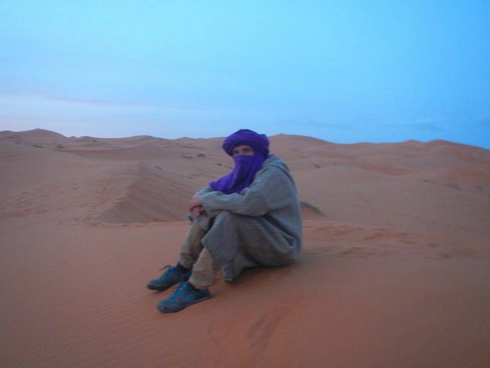 The middle of Desert